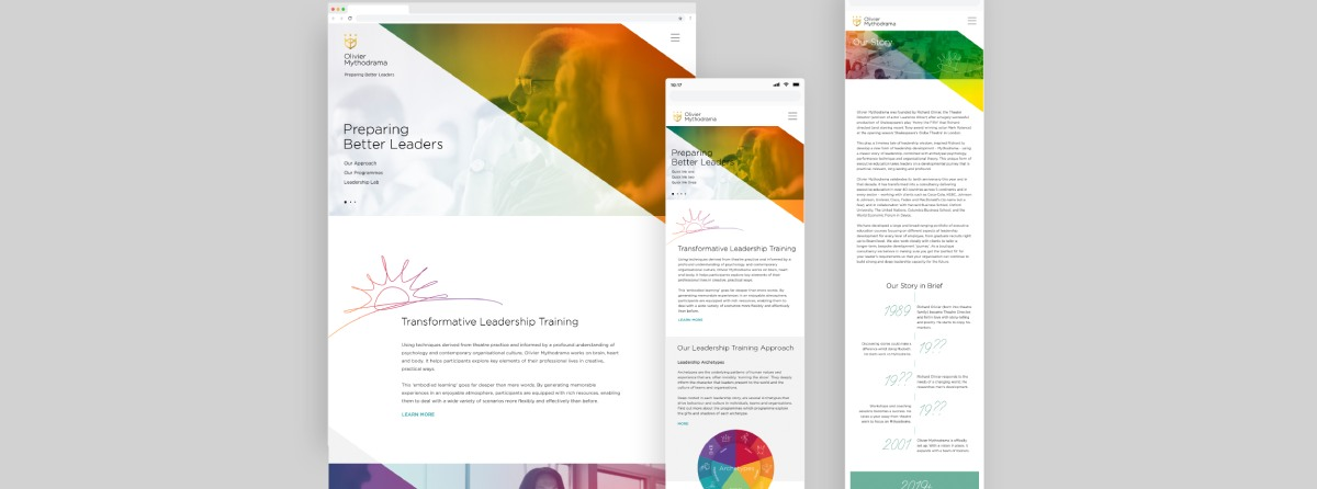 Preparing Better Leaders Website Design